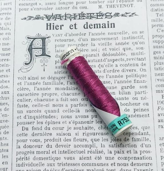 Gutermann  Silk Buttonhole Thread