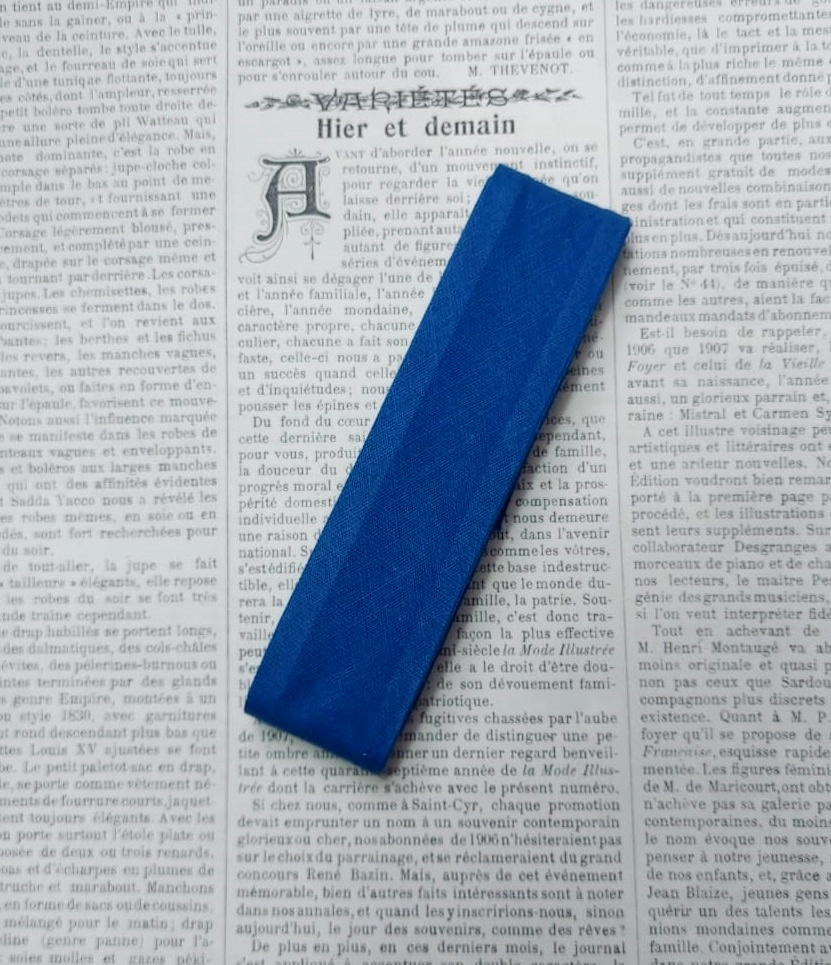 Cotton biastape 30mm. (dark colors)