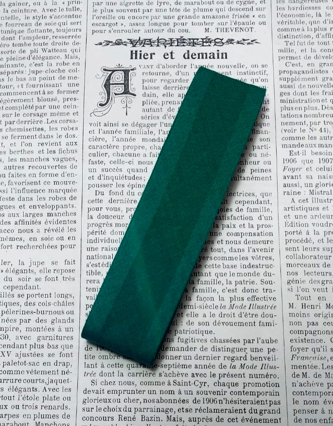 Katoen biaisband 30mm. (donkere kleuren)