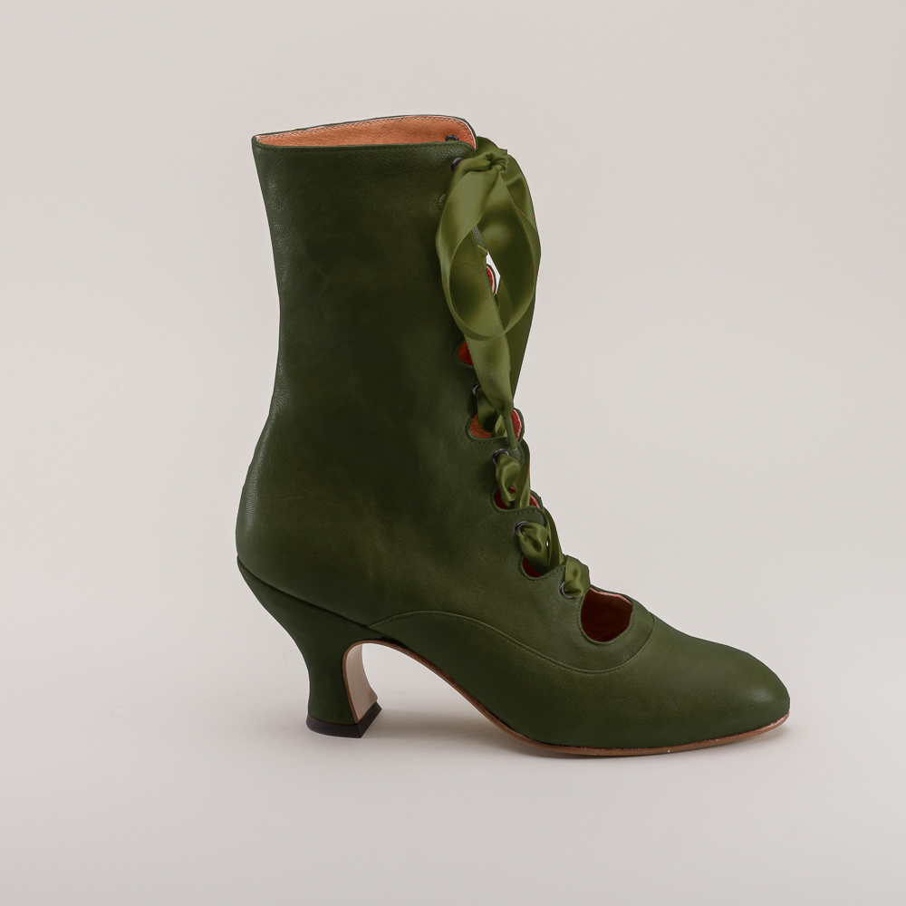 American Duchess American Duchess Edwardian Tango boots Green