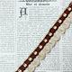 Vintage Beige/Bruin Flosjesband