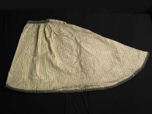 Antiek Victoriaans Wollen Brushbraid Bosgroen