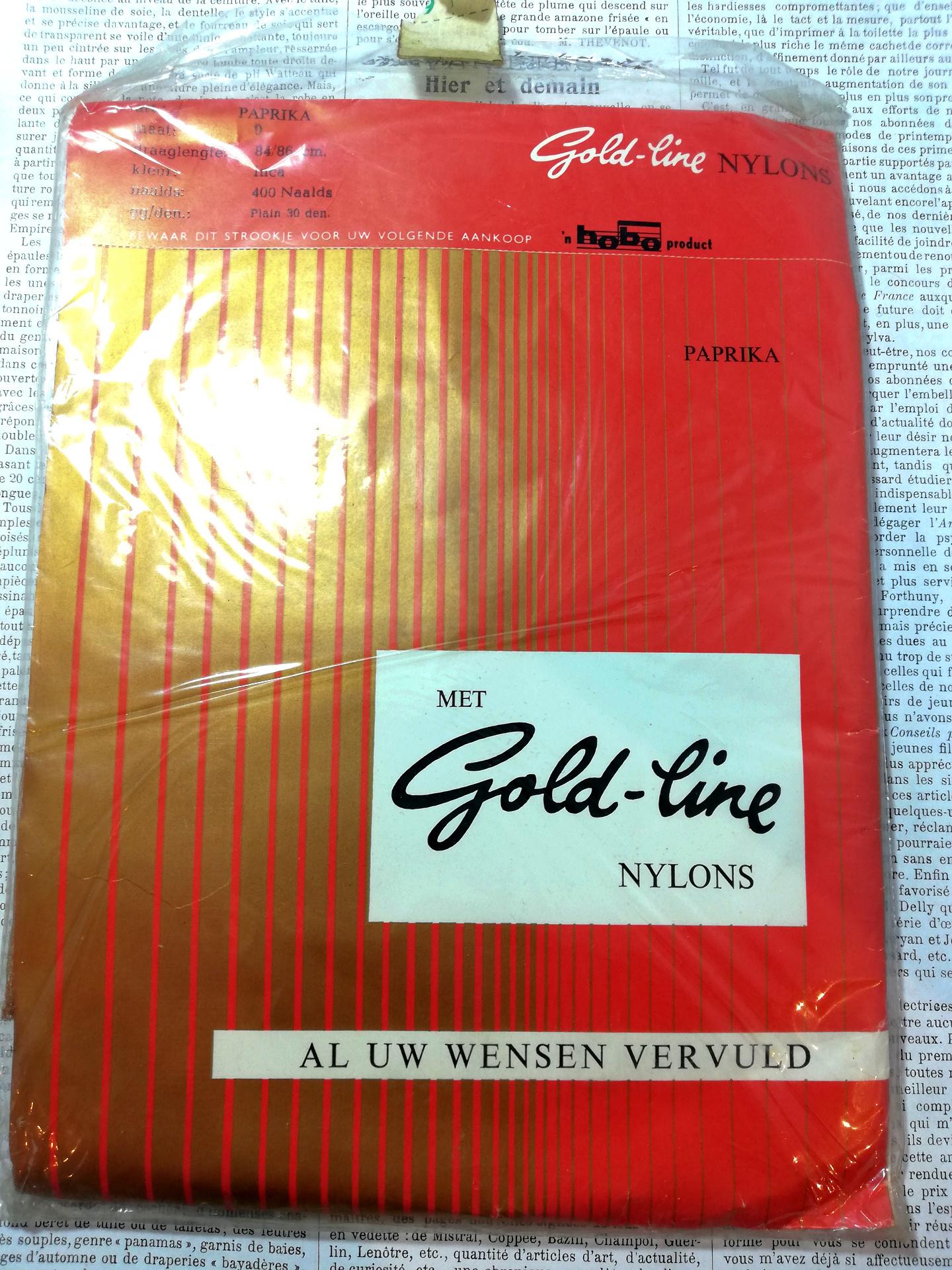 Vintage Nylon Kousen 4