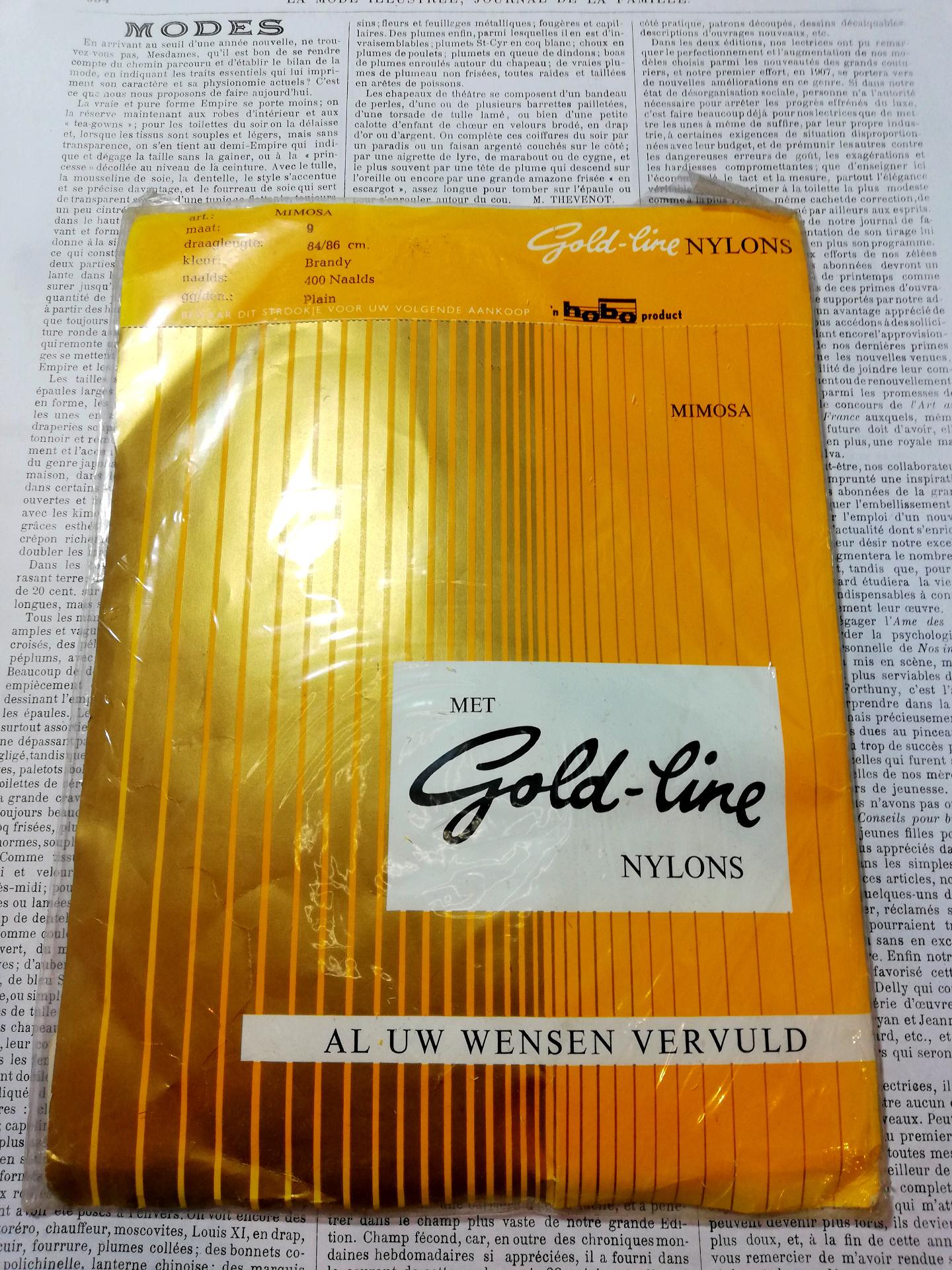 Vintage Nylon Kousen 5