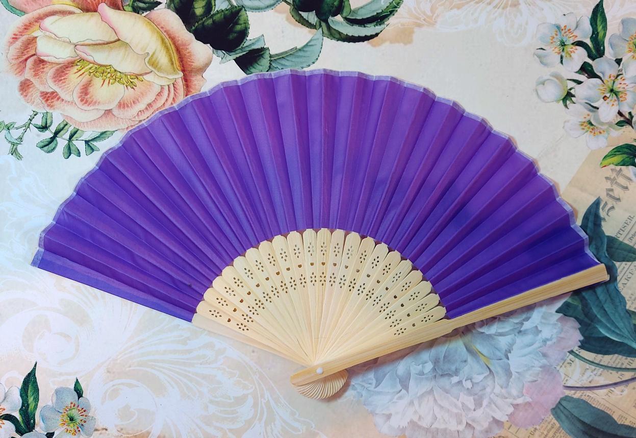 Fan fabric diff. colors