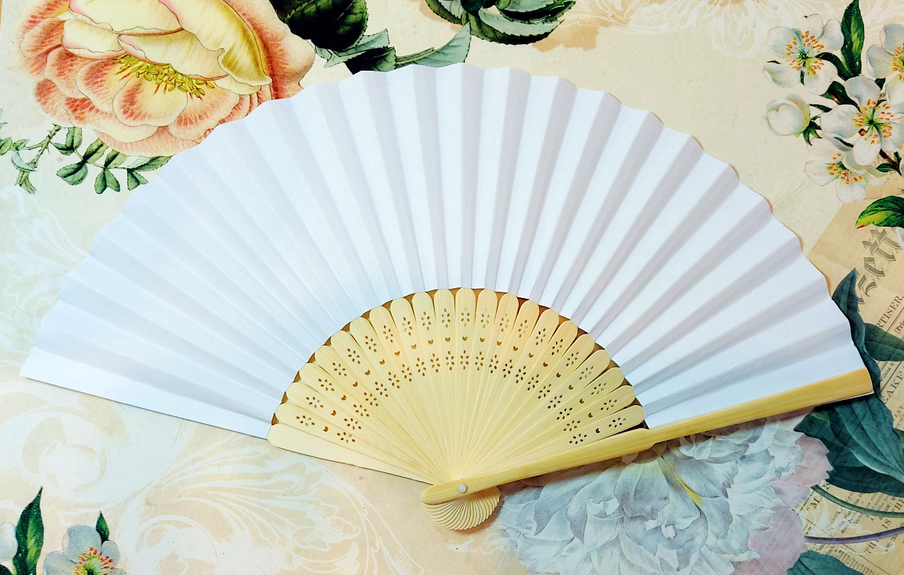 Fan paper diff. colors
