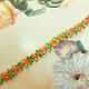 18e eeuws geinspireerd Bloemenband versch. kleuren