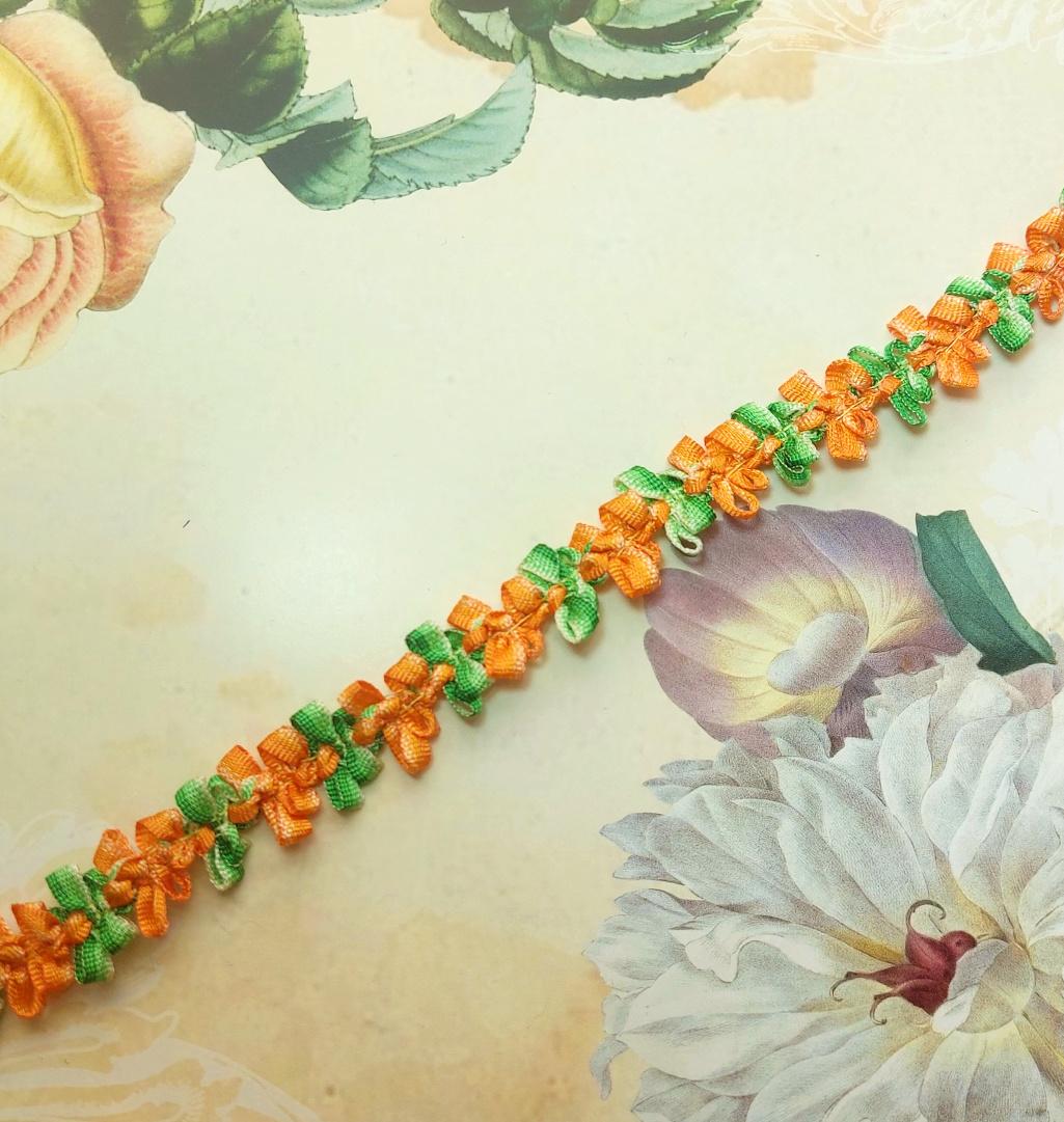 18e eeuws geinspireerd Bloemenband
