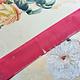 Antiek Fluweelband Licht  Roze