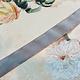 Antiek Fluweelband Grijs  versch. breedtes