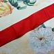 Antiek Fluweelband Koraal Roze 1 stuk