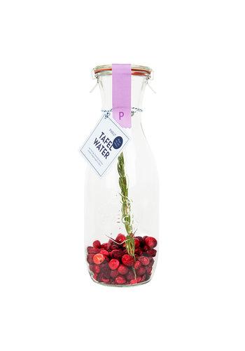 Tafelwater | Cranberry, kers en rozemarijn