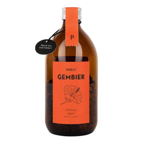 Gembier Hibiscus/Appel   6 stuks
