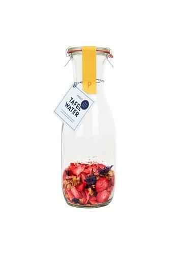 Tafelwater | aardbei, jasmijnbloem, korenbloem | 6 stuks