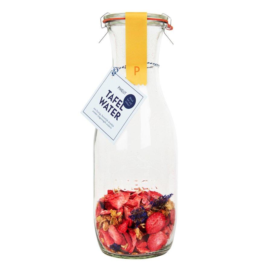 Fruitig Tafelwater | aardbei, jasmijnbloem, korenbloem | 6 stuks-1