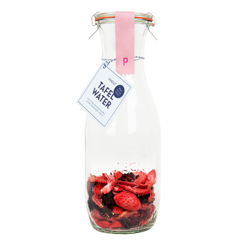 Tafelwater | Aardbei, hibiscus | 6 stuks