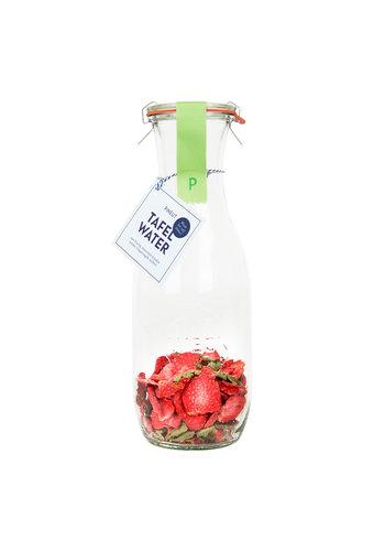 Fruitig Tafelwater | Aardbei, verveine | 6 stuks