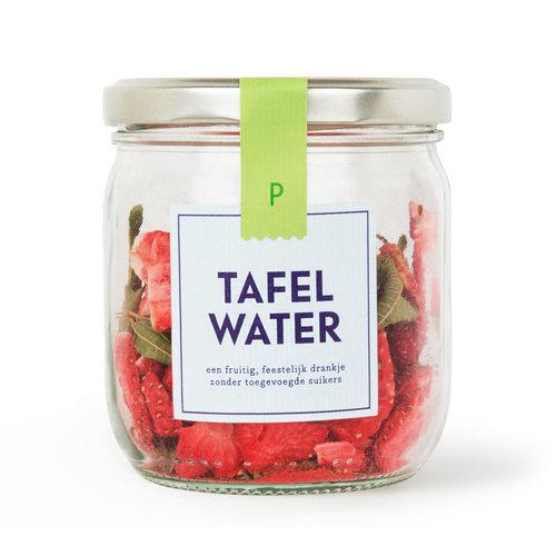 Tafelwater | Pot | Aardbei, verveine  | per 8 stuks