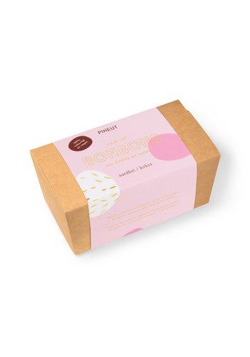 DIY Bonbons   Aardbei Kokos   8 stuks