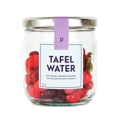 Tafelwater | Pot | Cranberry, kers, rozemarijn | 8 stuks
