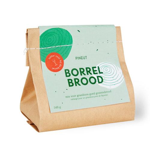 Borrelbrood Groentebrood
