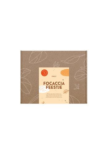 Brievenbuscadeau Focaccia | 8 stuks