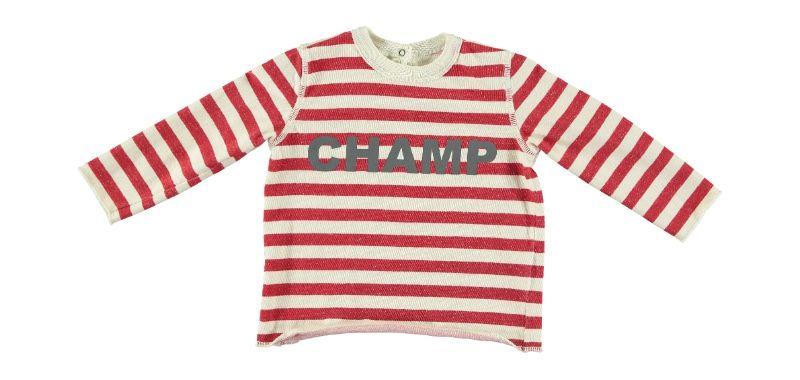 Sweatshirt Felpa Maschio Rosso-1