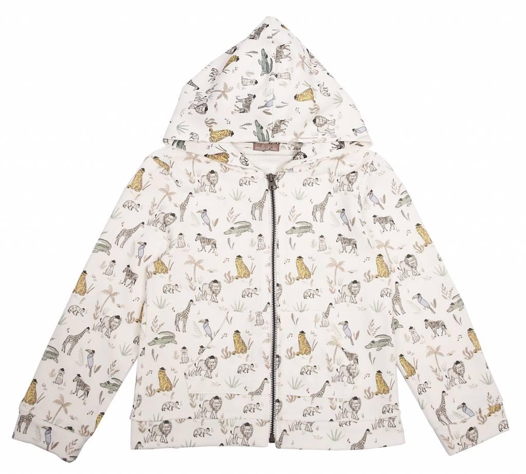 Sweatshirt Sucre ao Animaux-1