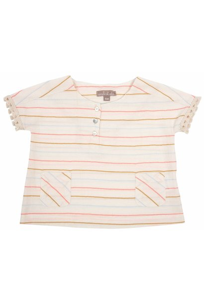 Blouse Striped Multico