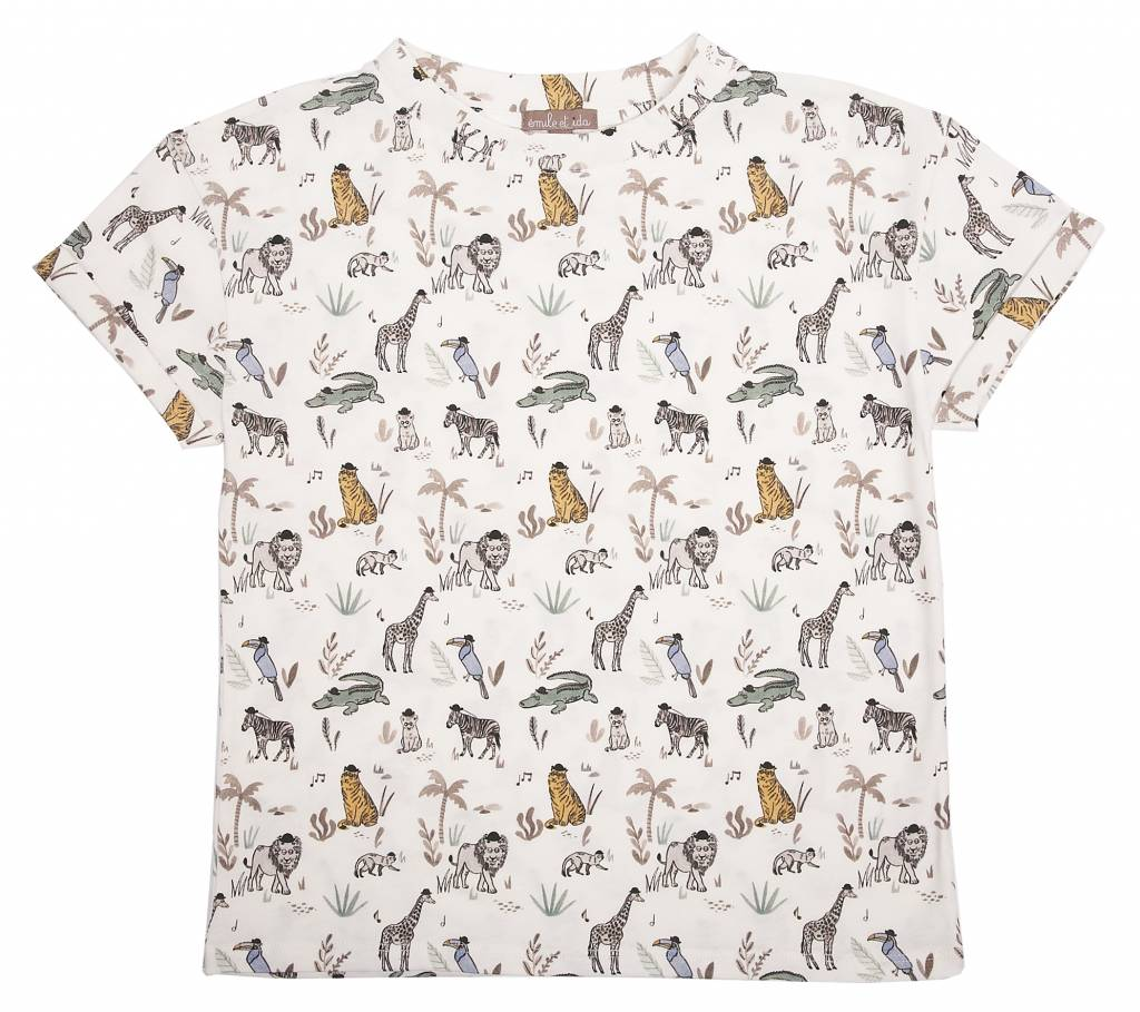 T-Shirt Sucre ao Animaux-1