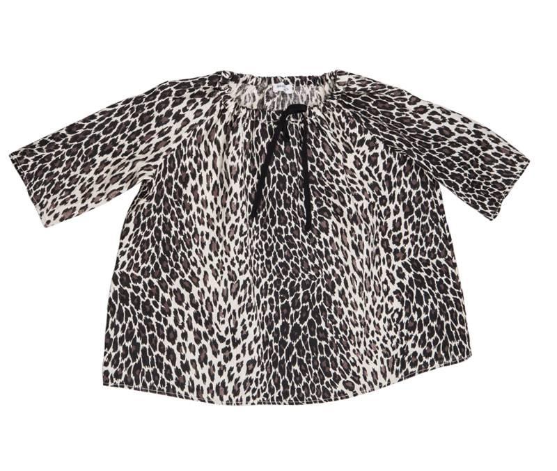 Dress Mini Abito Animalier-1