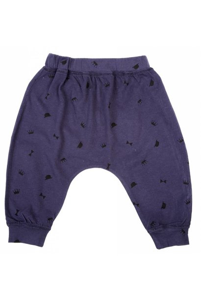 Pants Navy Couronne