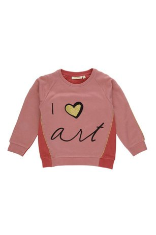 Sweatshirt Babs Faded Rose-1