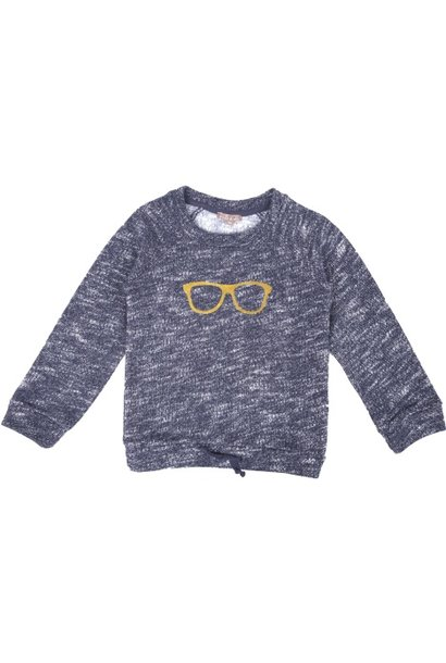 Sweatshirt Blue Chine