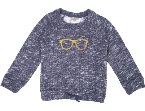 Sweatshirt Blue Chine-1