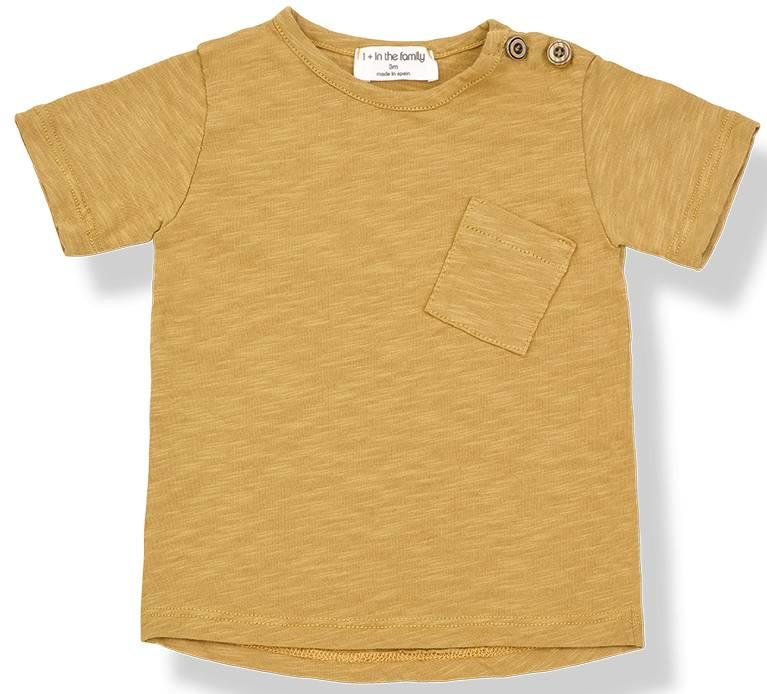 T-Shirt Judd Mustard-1