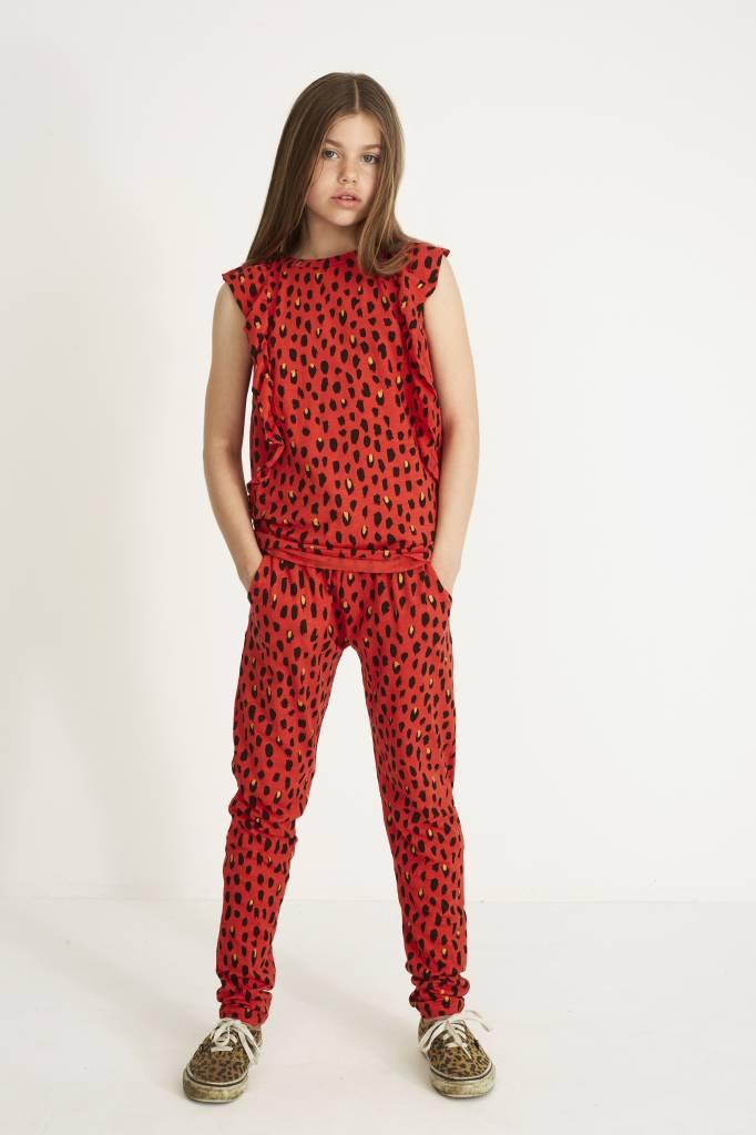T-shirt Flame scarlet-3