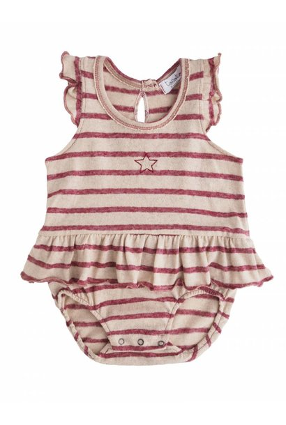 Romper Striped & Star