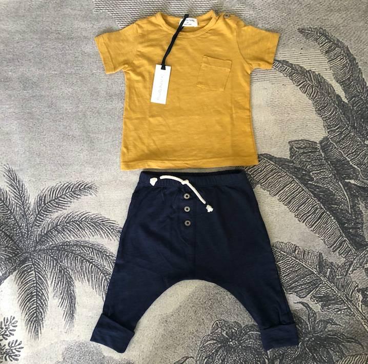 T-Shirt Judd Mustard-2