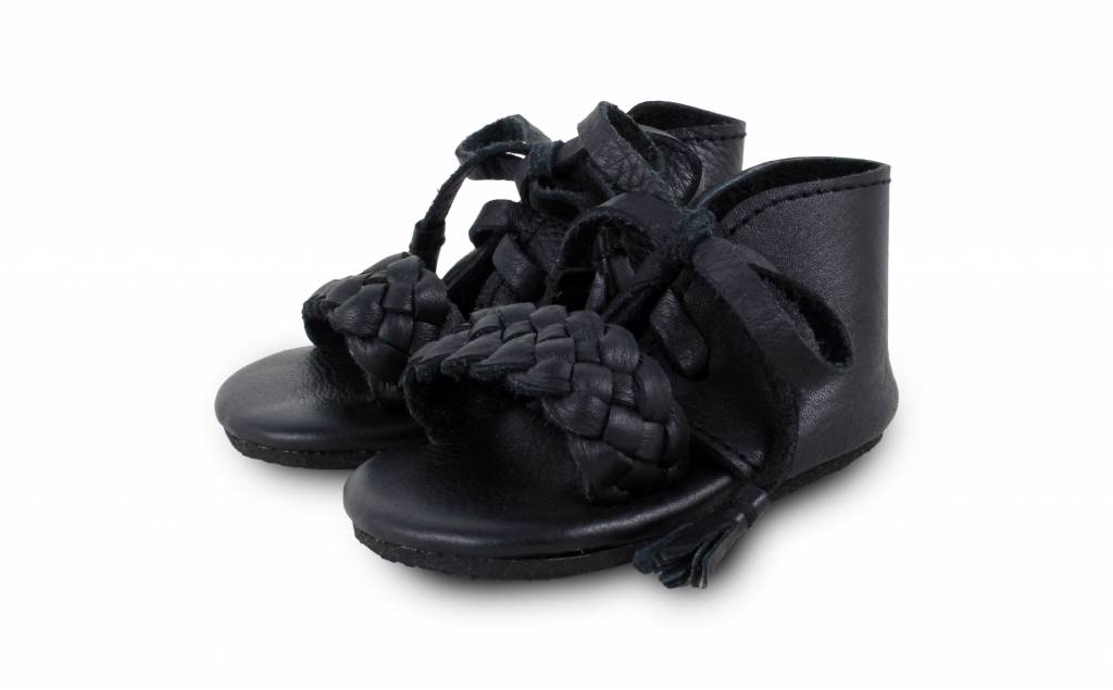 Coco Sandal Leather Black-1