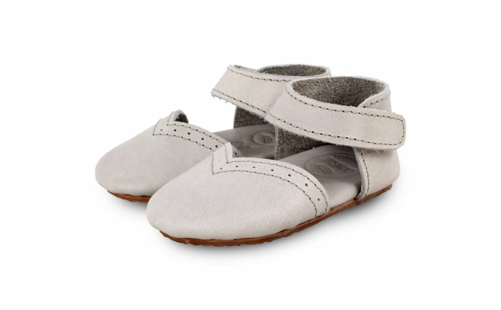 Mimi Leather Light Grey-1
