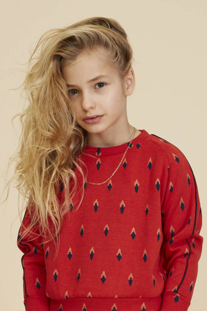 Sweatshirt Bex Mars Red-3