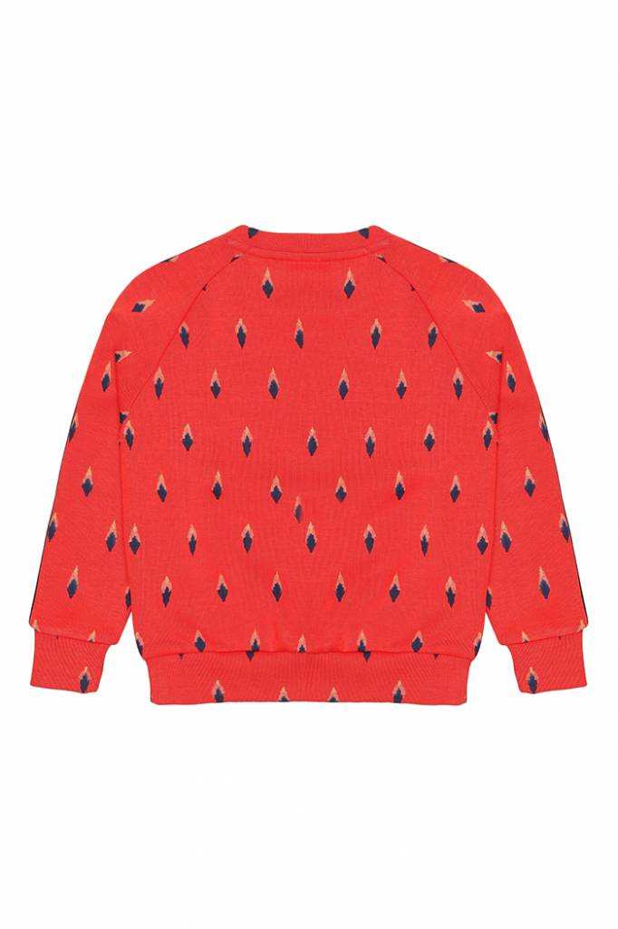Sweatshirt Bex Mars Red-2
