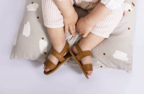 Sari Sandal Leather Cognac-2
