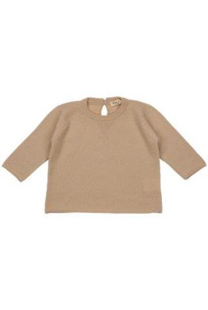 Sweater Felpina Ecru
