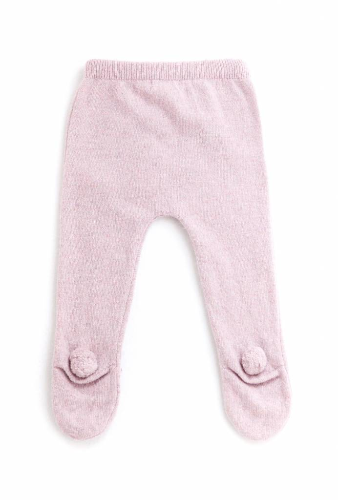 Broekje Knitted Bear Legging Pink-2