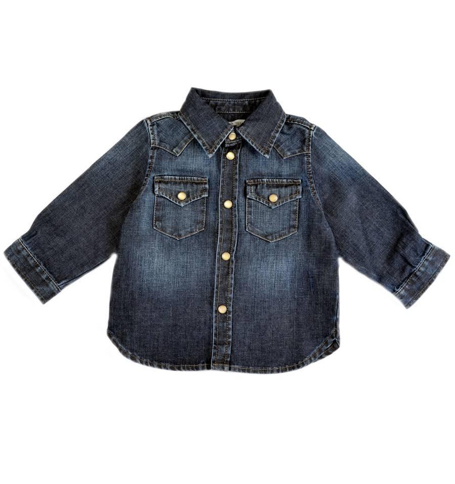Denim blouse-1