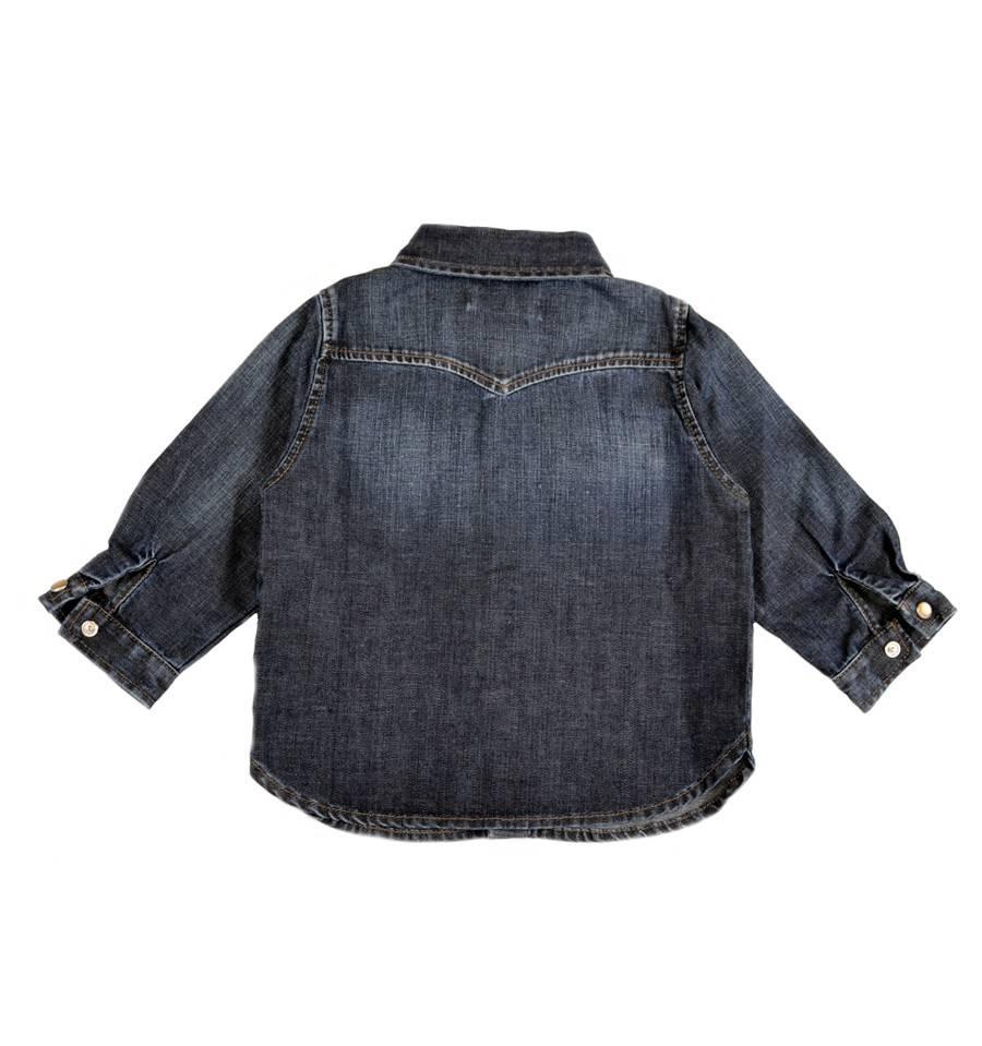 Denim blouse-2