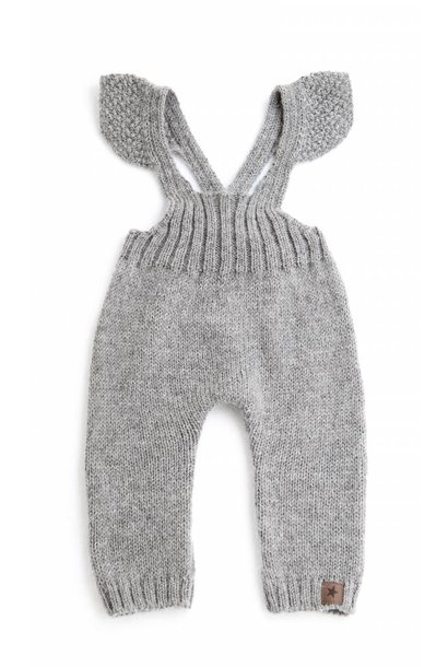 Jumpsuit Knitted Grey