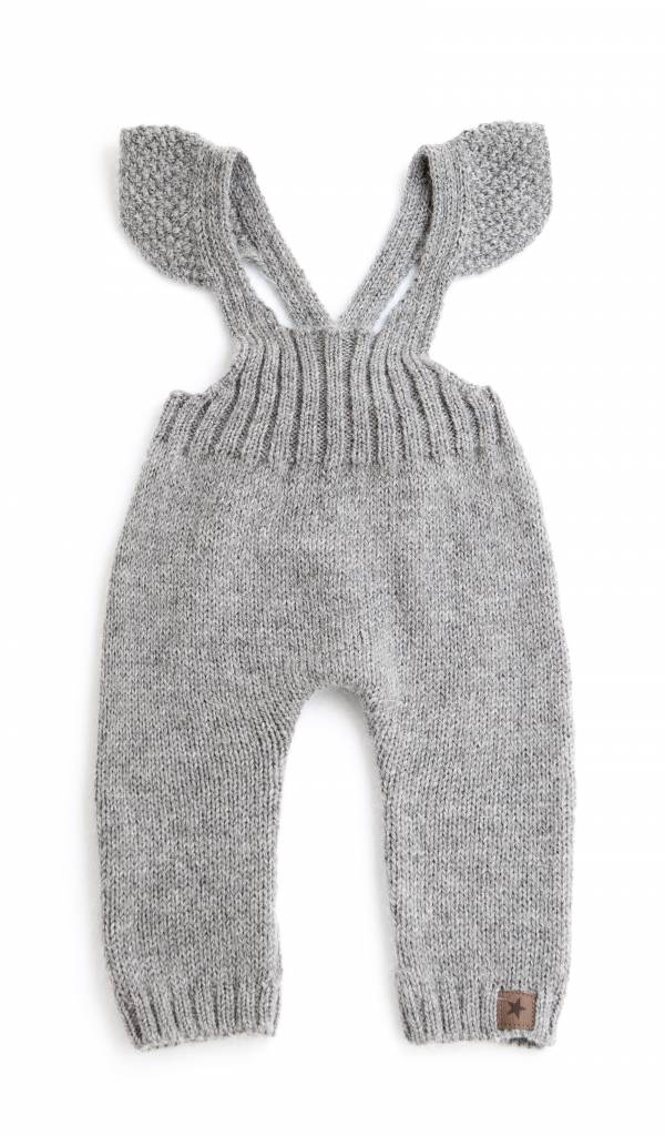 Jumpsuit Knitted Grey-1